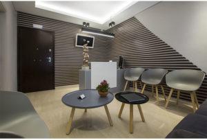 χώρος αναμονής του ιατρείου Γκουντάκος θεσσαλονίκη